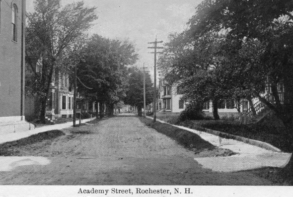 "Academy Street early 1900""s"